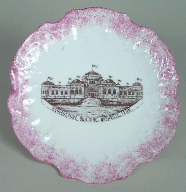 5: Nashville Agriculture Building porcelain plate