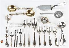 32 assorted Sterling Flatware  more