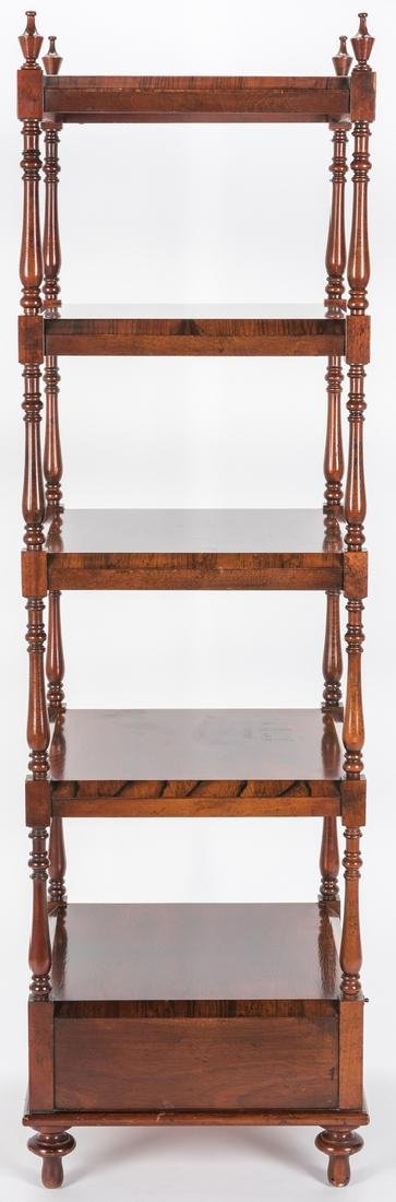 English Regency Style Rosewood Etagere - 4