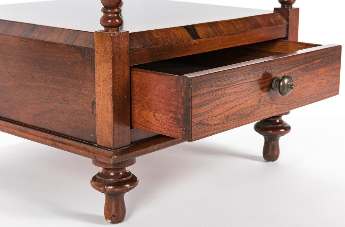 English Regency Style Rosewood Etagere - 8