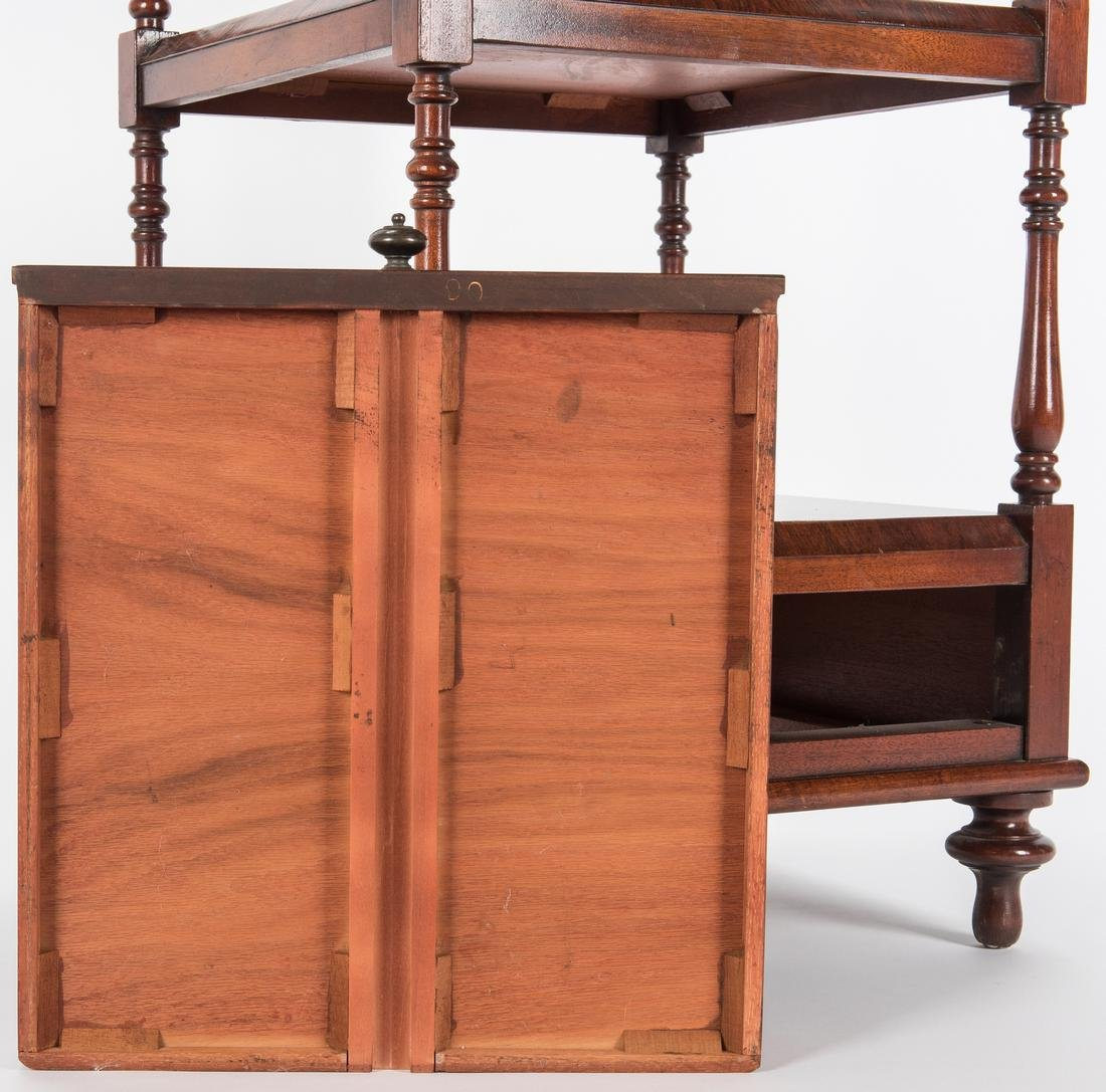 English Regency Style Rosewood Etagere - 9