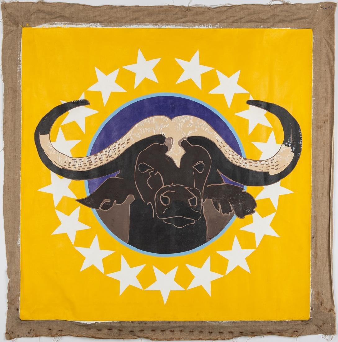 James Caulfield Water Buffalo Painting - 2