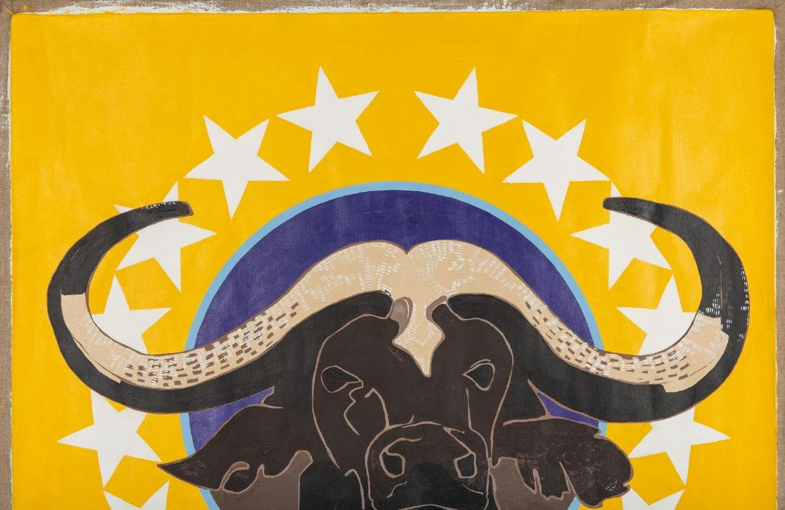 James Caulfield Water Buffalo Painting - 4