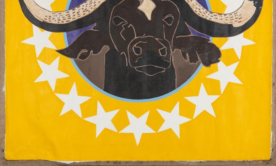 James Caulfield Water Buffalo Painting - 5