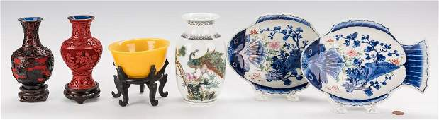 6 Asian Decorative Table Items