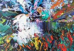 J Hawkins Contemporary Abstract Painting