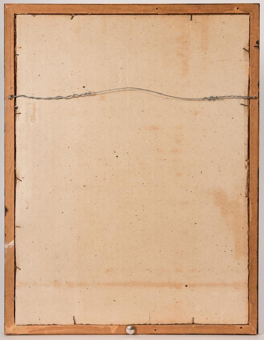 Leon Pescheret etching of Wrigley Building - 9