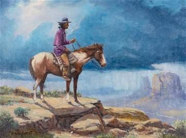 Olaf Wieghorst O/C Navajo Rider