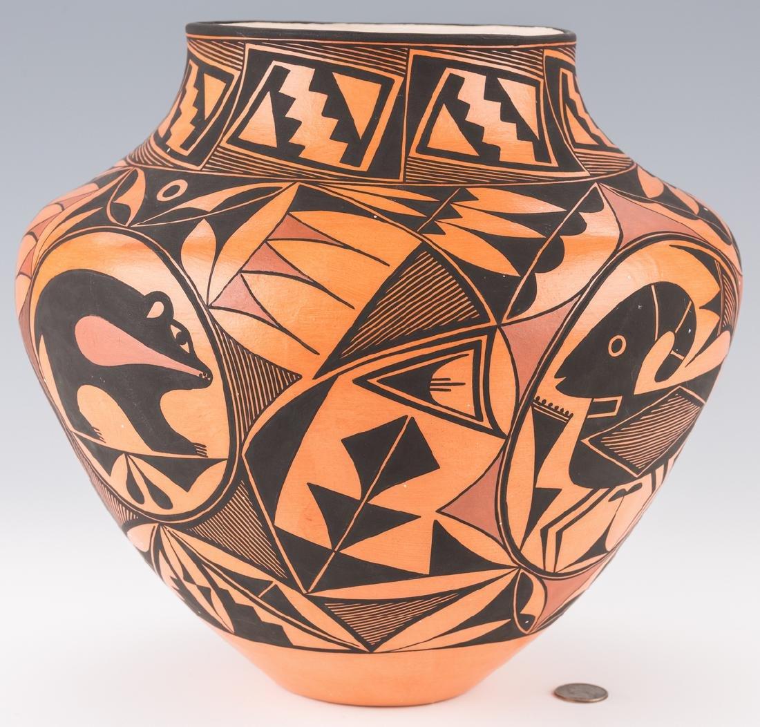 Trujillo SW Pottery Jar - 3