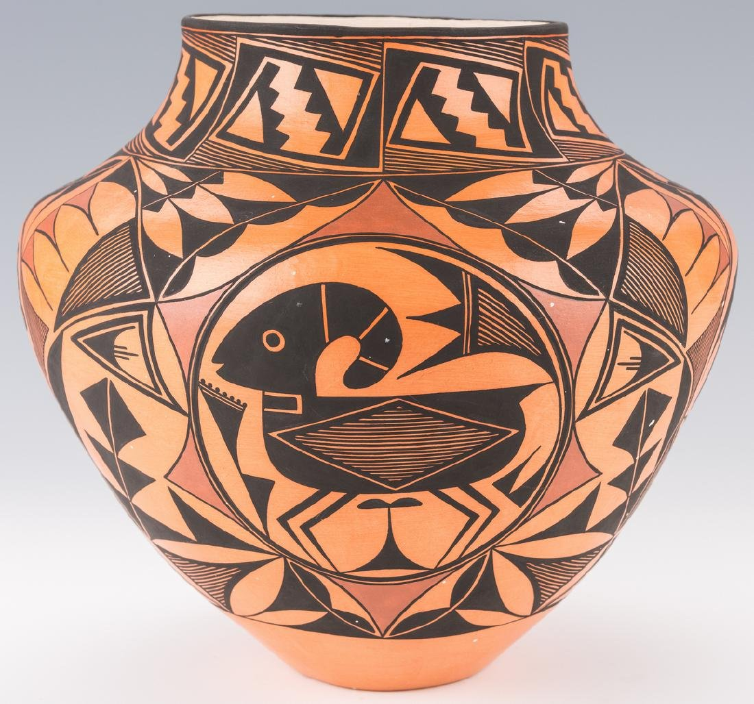 Trujillo SW Pottery Jar - 6