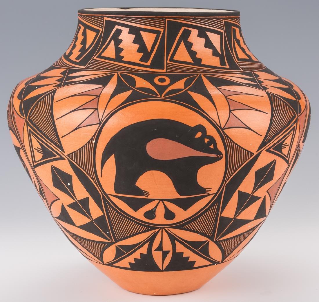Trujillo SW Pottery Jar - 9