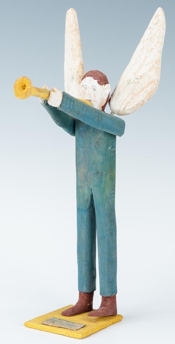 3 Folk Art items, Perkins, Jennings & Webster - 3