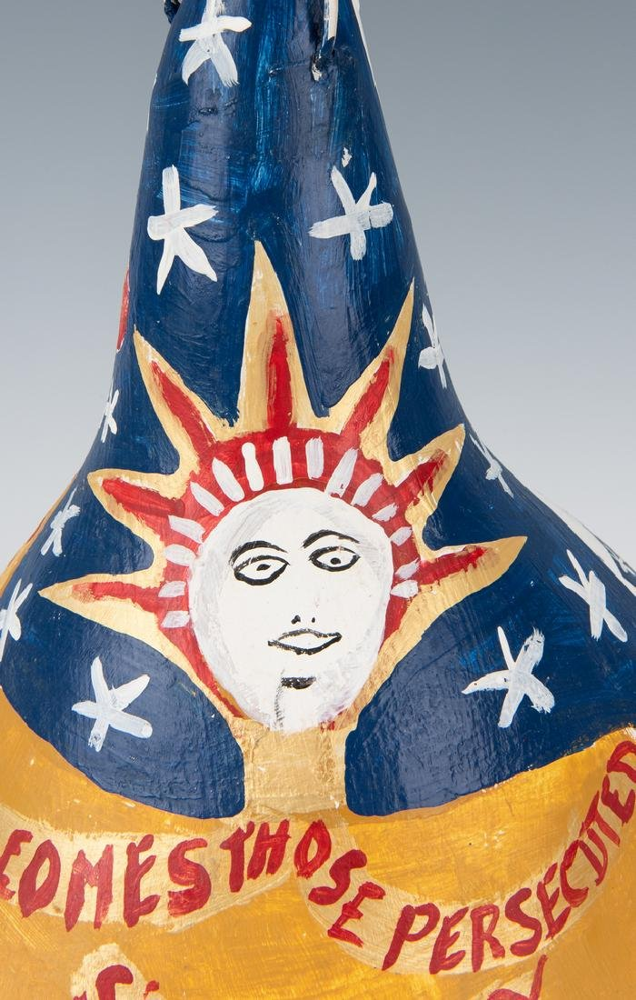 3 Folk Art items, Perkins, Jennings & Webster - 7