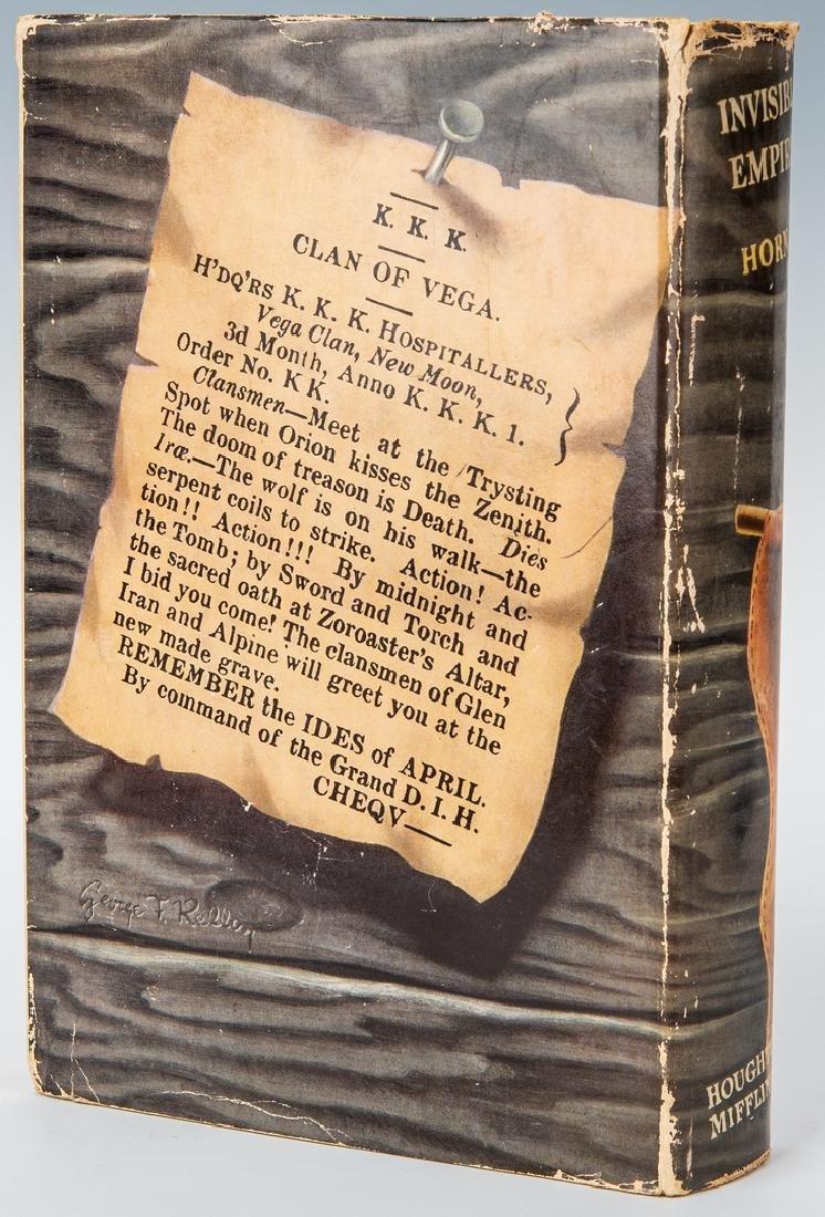 2 Ku Klux Klan Related Books, inc. S.L. Davis Signed - 4