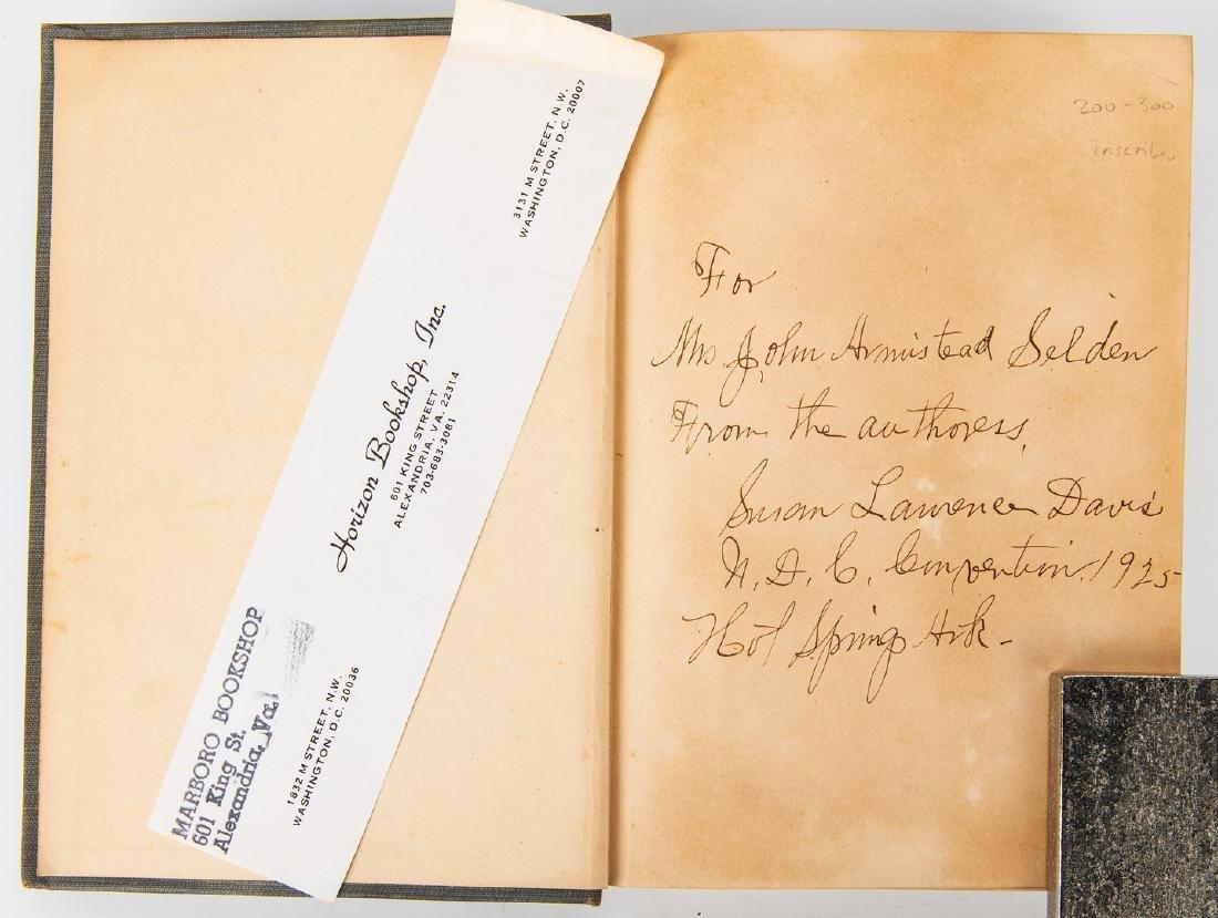 2 Ku Klux Klan Related Books, inc. S.L. Davis Signed - 5