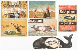Collection of 893 Advertising Trade Cards
