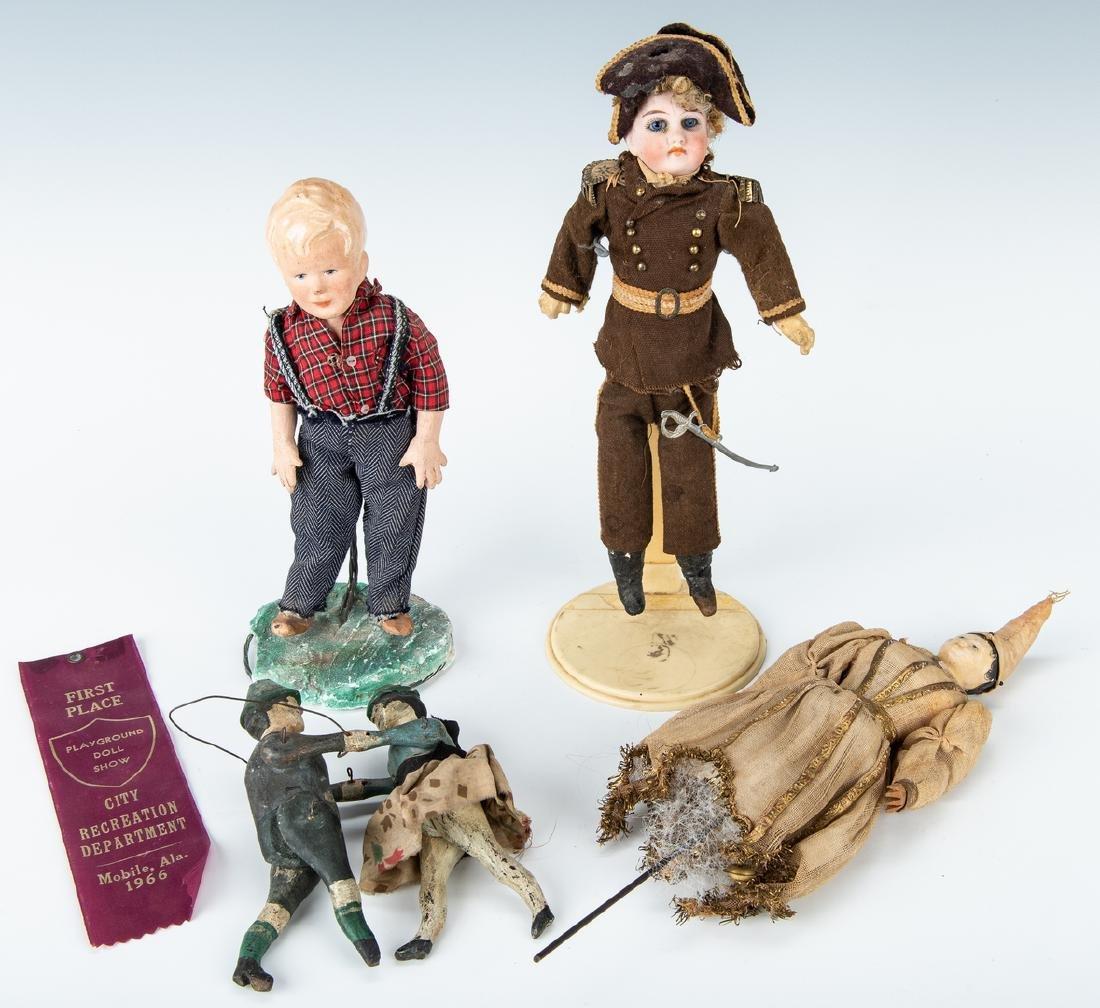 Group of 9 Vintage Toys, Stuffed Animals & Dolls - 2