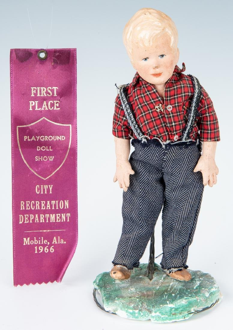 Group of 9 Vintage Toys, Stuffed Animals & Dolls - 3