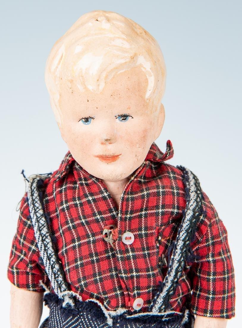 Group of 9 Vintage Toys, Stuffed Animals & Dolls - 6