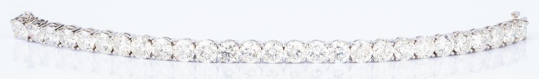 27 Carat Diamond Line Bracelet - 4