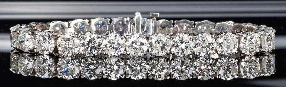 27 Carat Diamond Line Bracelet - 5