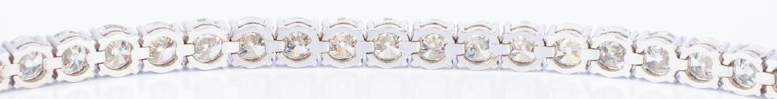27 Carat Diamond Line Bracelet - 9