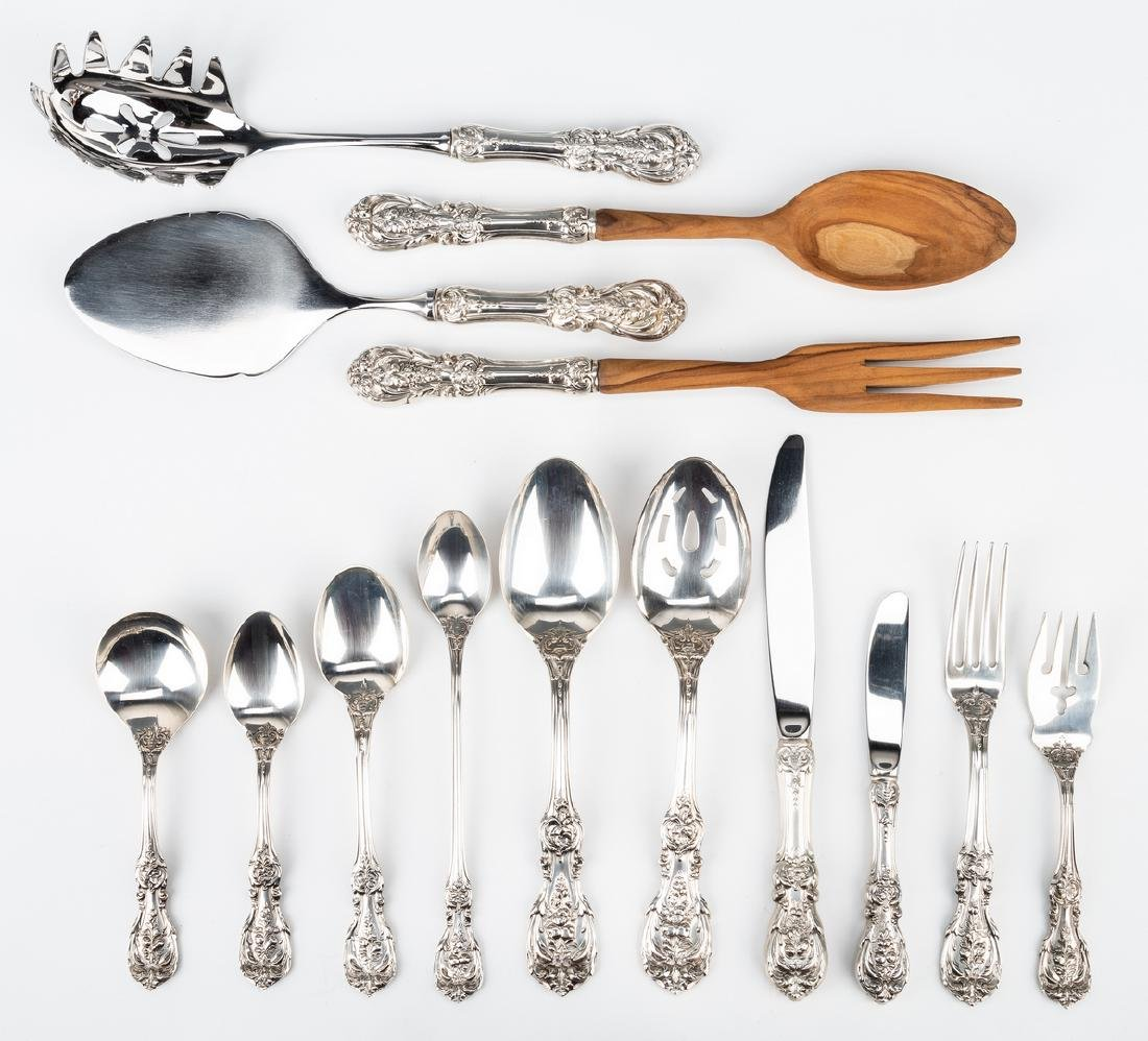 Reed Barton Francis I Sterling Flatware, 74 pc - 2