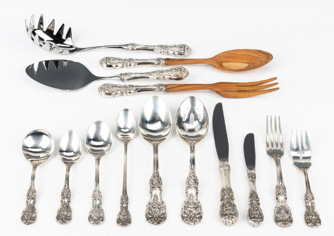 Reed Barton Francis I Sterling Flatware, 74 pc - 3
