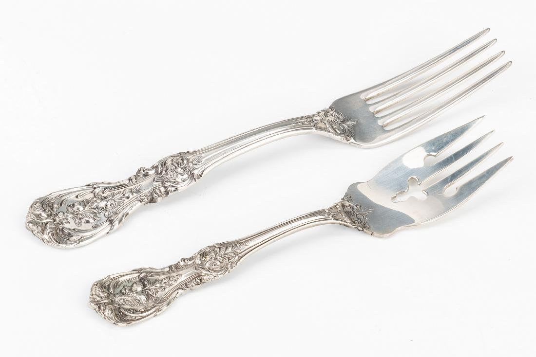 Reed Barton Francis I Sterling Flatware, 74 pc - 6