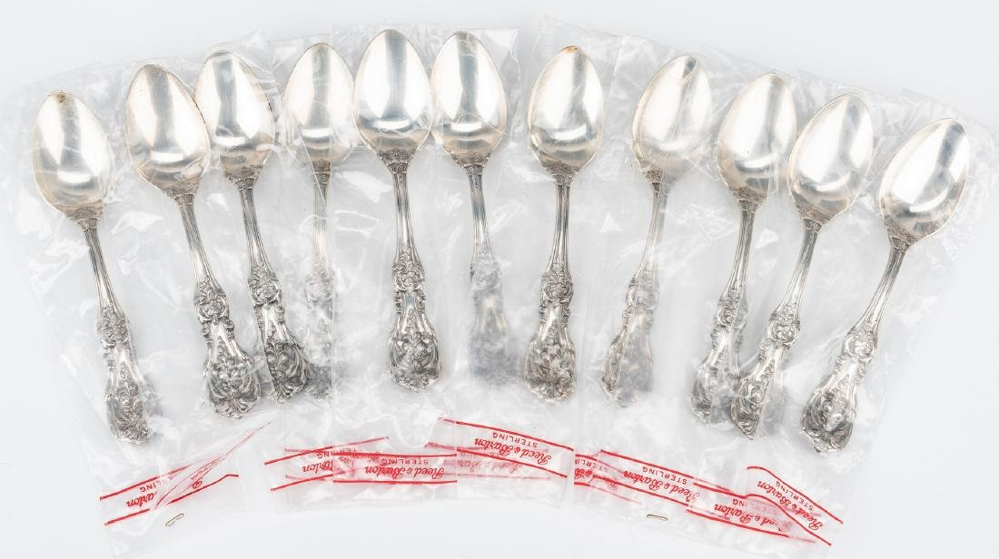 Reed Barton Francis I Sterling Flatware, 74 pc - 9