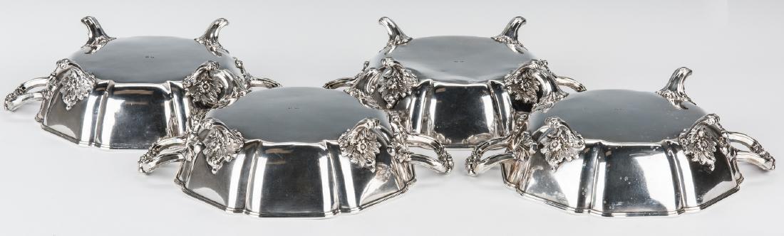 4 Matthew Boulton Armorial Entree Dishes - 3