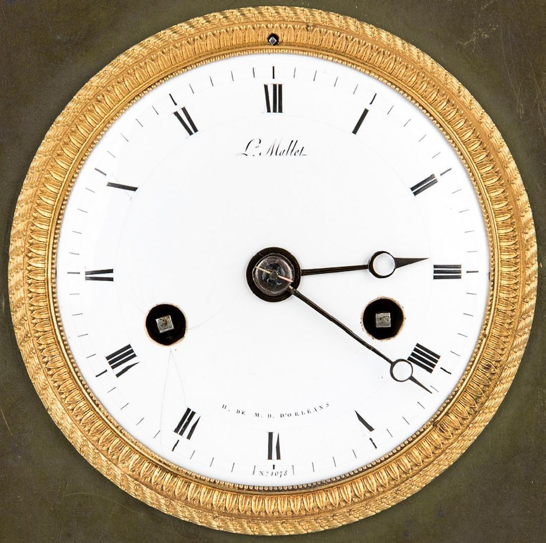 George Washington Clock by Mallet, c. 1820 - 10