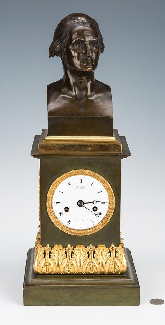George Washington Clock by Mallet, c. 1820 - 2