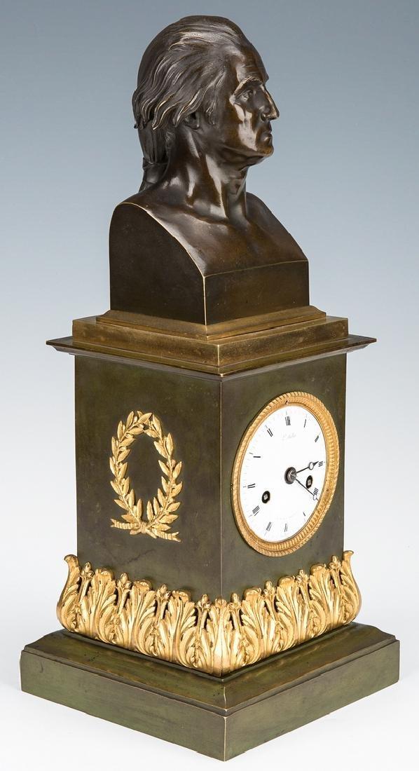 George Washington Clock by Mallet, c. 1820 - 5