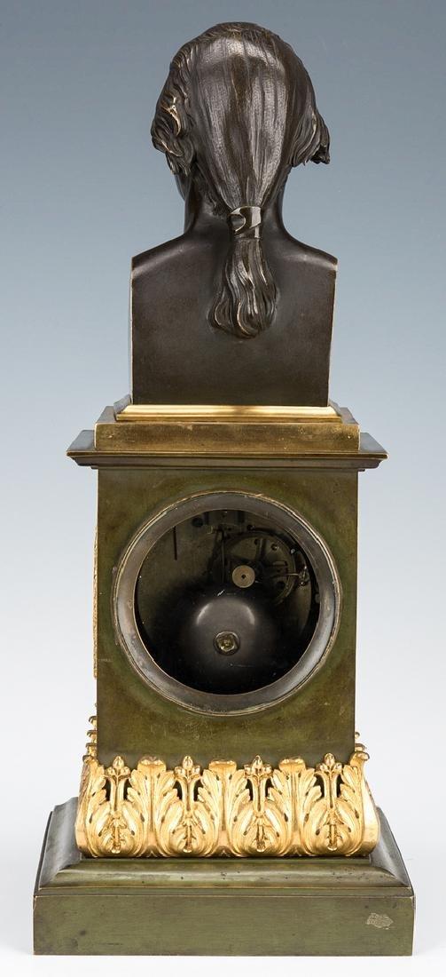 George Washington Clock by Mallet, c. 1820 - 6