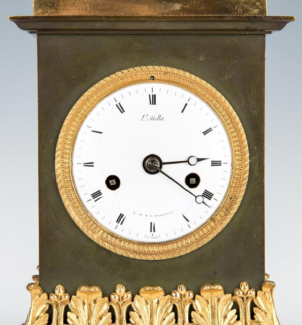 George Washington Clock by Mallet, c. 1820 - 9