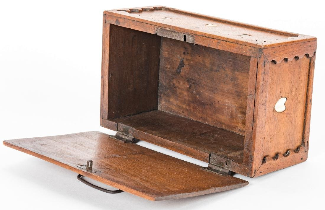 Collection of 12 Wood Boxes, incl. Shaker - 10