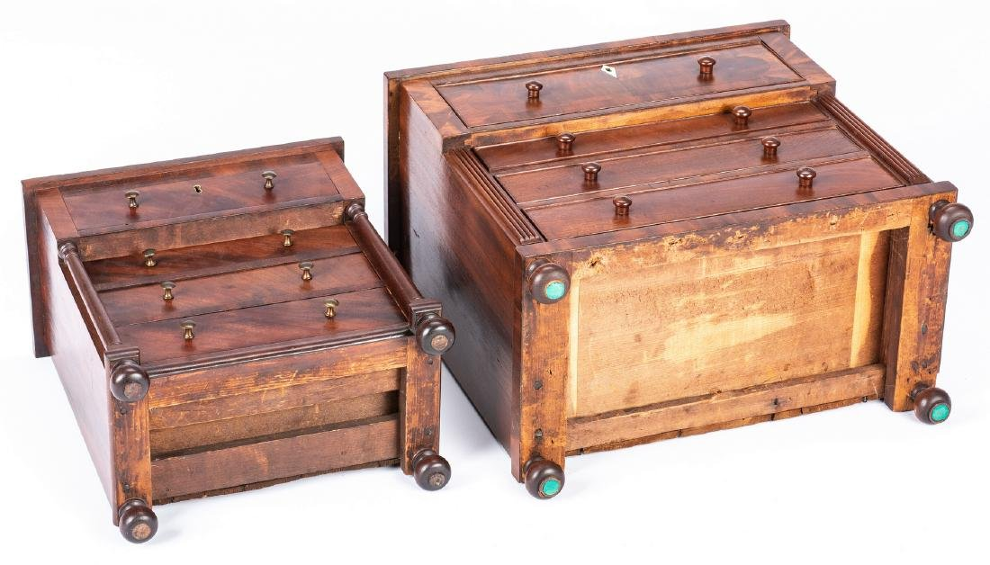2 Mid Atlantic Miniature Classical Chests of Drawers - 4