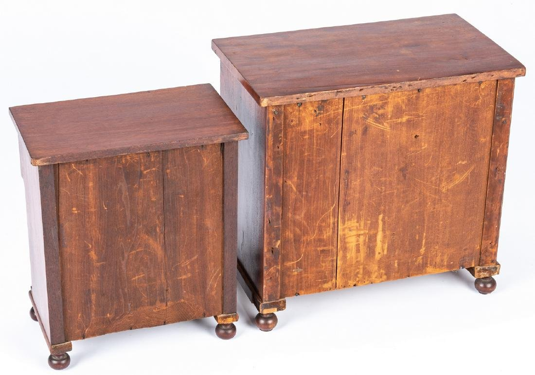 2 Mid Atlantic Miniature Classical Chests of Drawers - 5