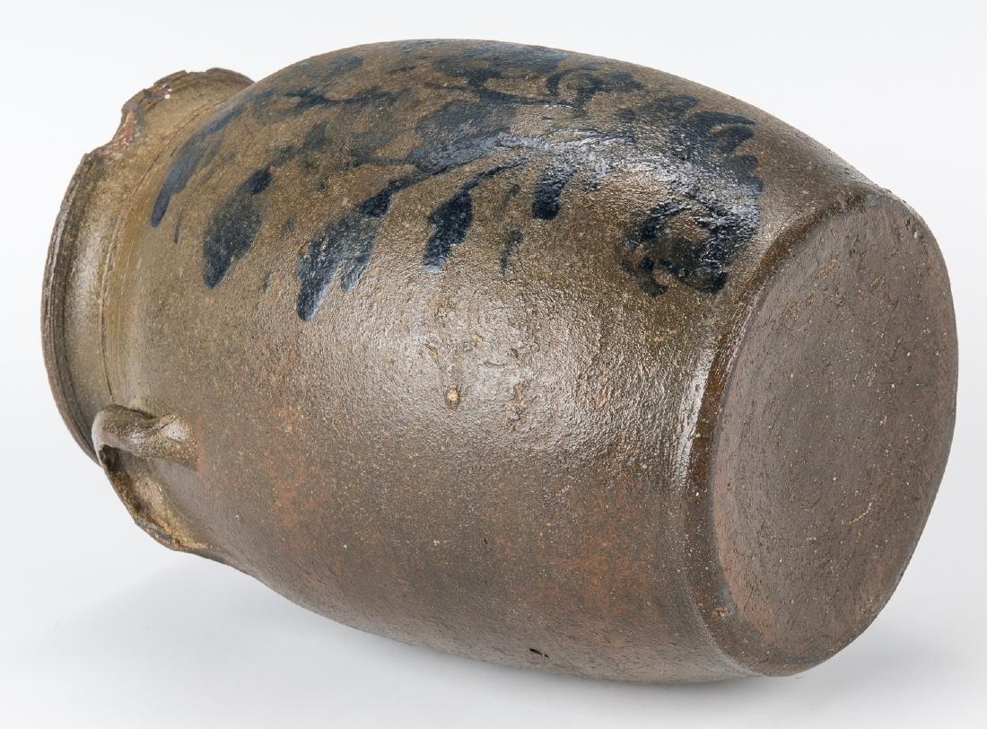 Small Southwest VA Stoneware Jar, Cobalt Decorated, - 6