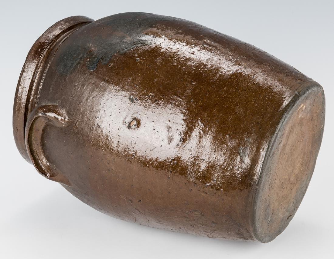 Southwest VA J. B. Magee Stoneware Jar w/ Cobalt, - 7