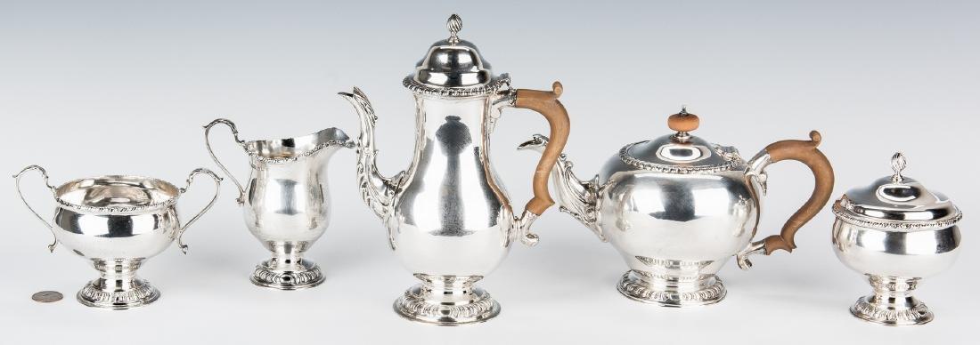 Asprey & Co. Sterling Silver Tea Set