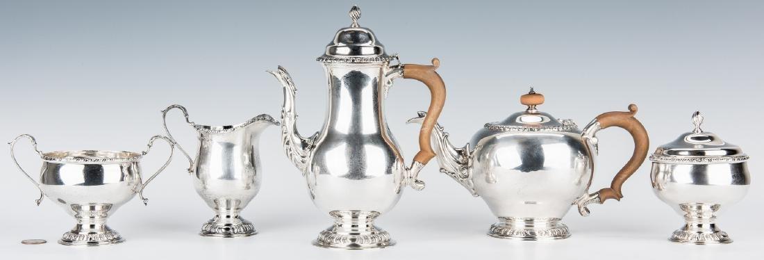 Asprey & Co. Sterling Silver Tea Set - 2
