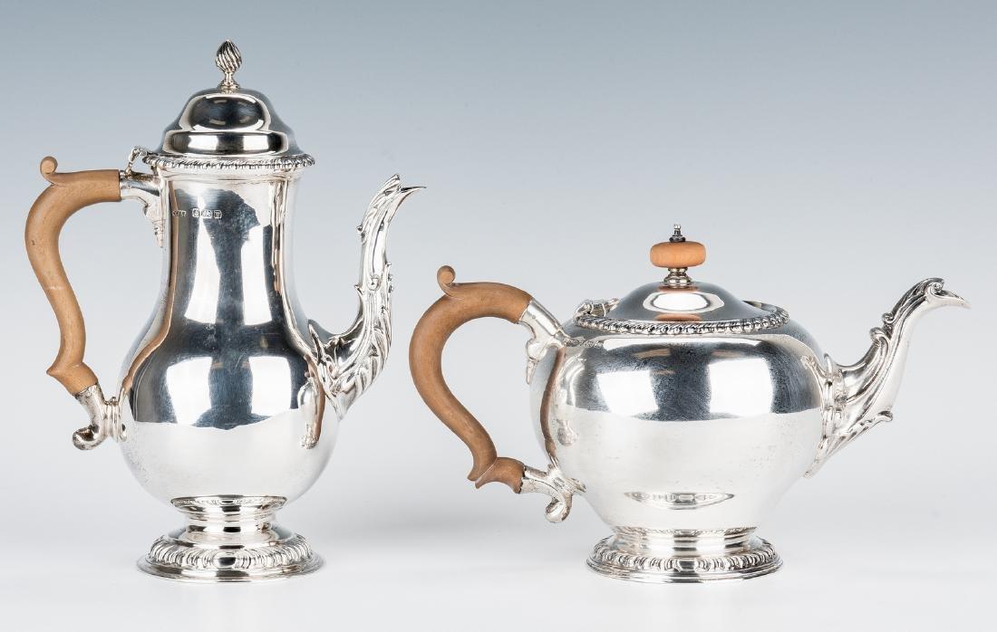 Asprey & Co. Sterling Silver Tea Set - 3