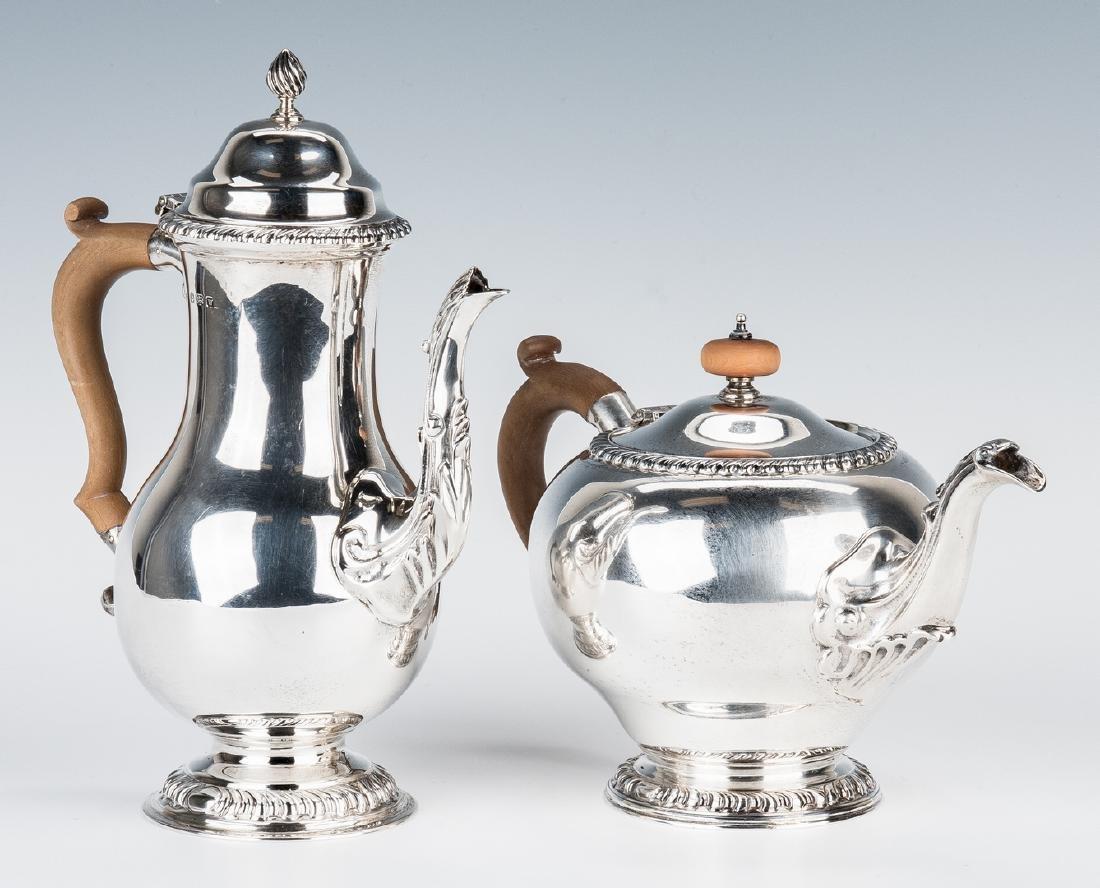 Asprey & Co. Sterling Silver Tea Set - 4