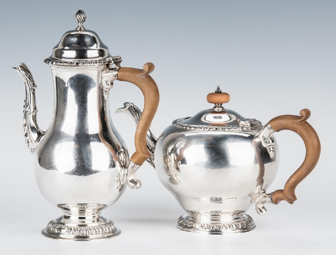 Asprey & Co. Sterling Silver Tea Set - 6