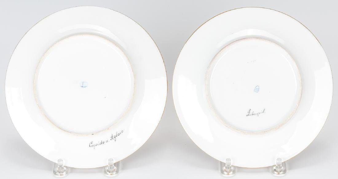 Pr. Royal Vienna Cabinet Plates, Berg and Bauer - 10