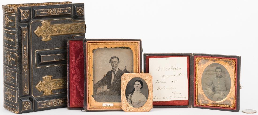 Civil War Tintype & Archive, C. C. Taylor - Columbus GA