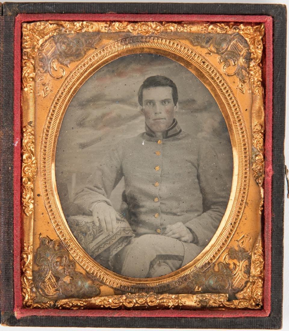 Civil War Tintype & Archive, C. C. Taylor - Columbus GA - 2