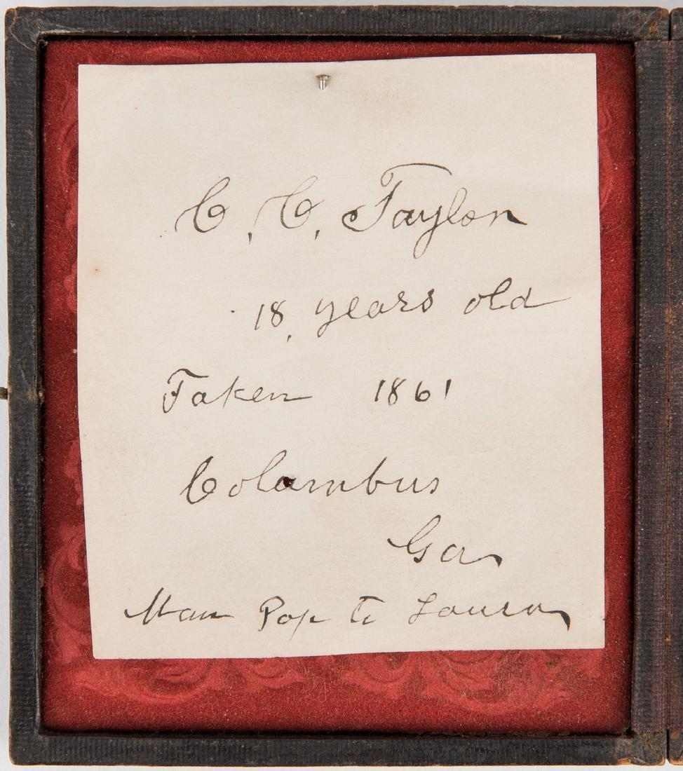 Civil War Tintype & Archive, C. C. Taylor - Columbus GA - 3